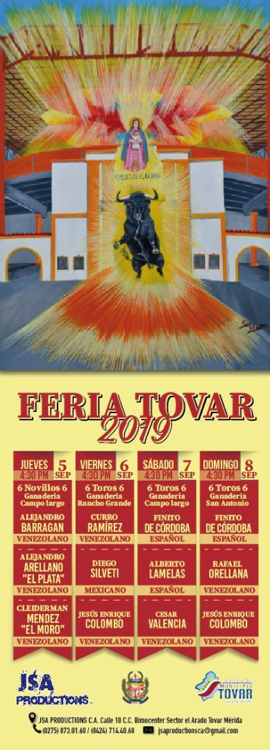 FEIA DE TOVAR 2019