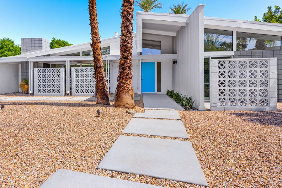 B-4 plan Mid Century home in Rancho Mirage