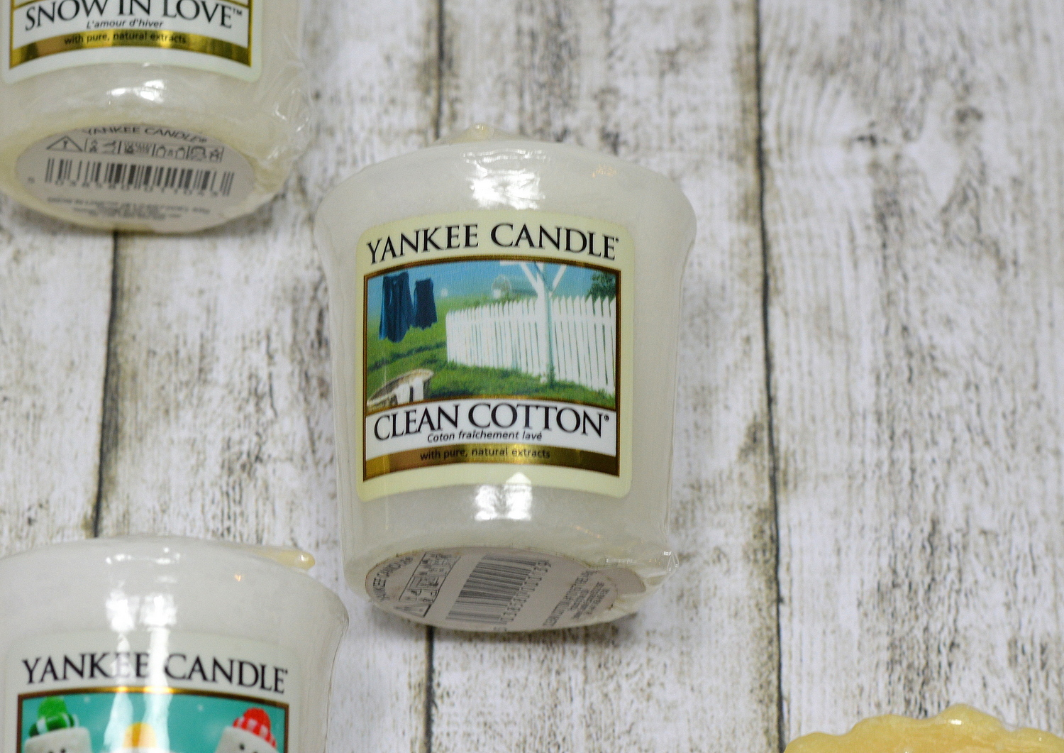 Yankee Candle Clean Cotton