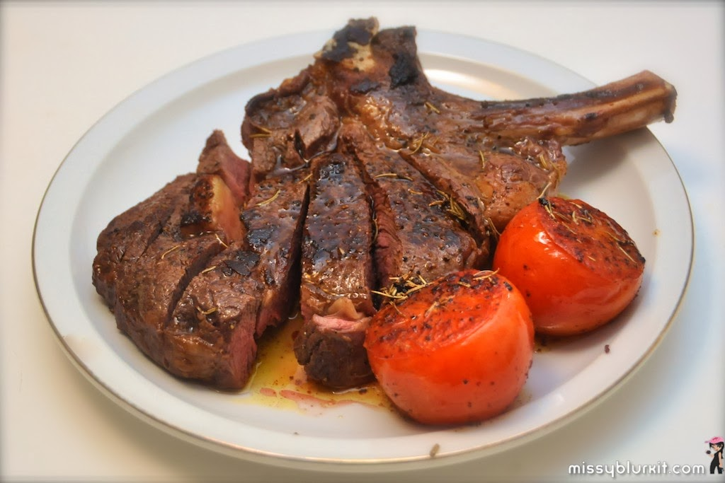 Recipe: Pan Roasted Dry Aged Ribeye | missyblurkit