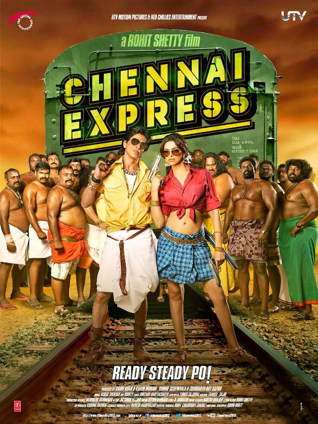 La película Chennai Express ( Una travesía de amor )