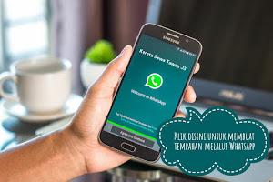 Klik DiSini Untuk Tempahan Melalui Whatsapp