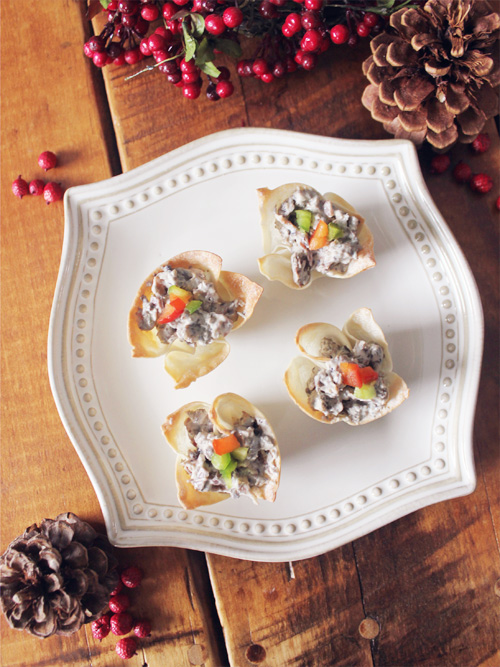 mushroom prosciutto cups from mushrooms canada ingredients 24 thin ...