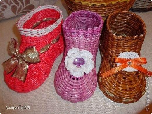 Renkli Kağıttan Patik Tekniği