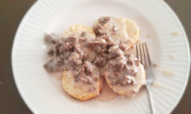Biscuits and Gravy: Guest Post by Julie from White Lights on Wednesday