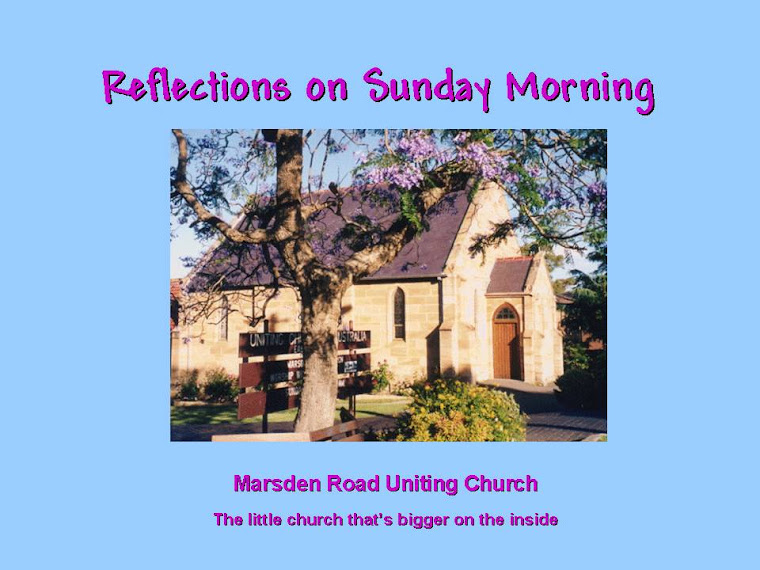 Reflections on Sunday Morning
