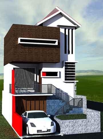 Gambar 3 & Desain Rumah Minimalis untuk Lahan Sempit | Desain Rumah Moderns