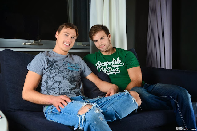 Gabriel Clark and Benjamin D'Amour