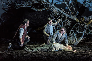 Gerald Finley, John Osborn, Alexander Vingradov, Eric Halfvarson - Act Two, Guillaume Tell - Royal Opera House - photo credit Clive Barda