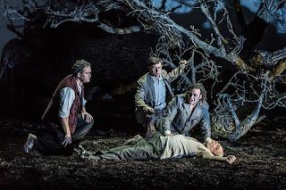 Gerald Finley, John Osborn, Alexander Vingradov, Eric Halfvarson - Act Two, Guillaume Tell - Royal Opera House - photo credit Clive Barda