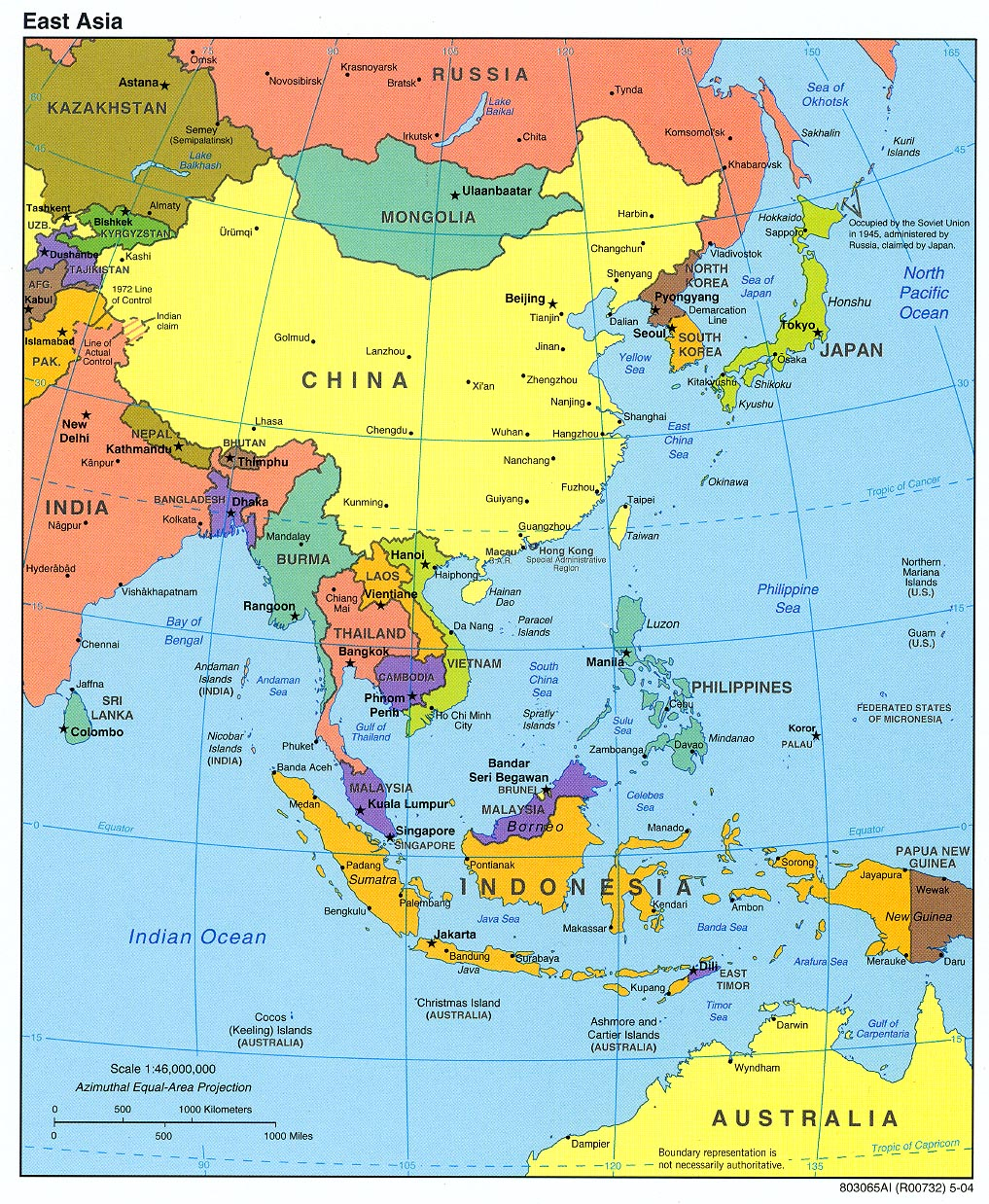 China Map Locations in Asia Area China Map Cities Tourist