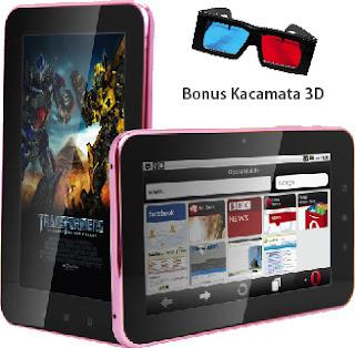 Pixcom AndroTab Core 3D Android Tablet Harga Hanya 1 Juta