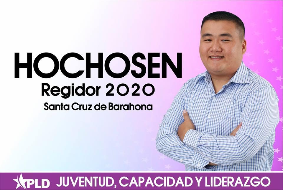 JEFFERSON JOA (HOCHOSEN) Regidor PLD Santa Cruz de Barahona 2020-2024