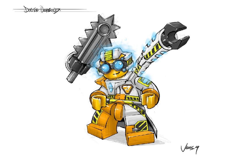 Игра lego universe полностью построена на