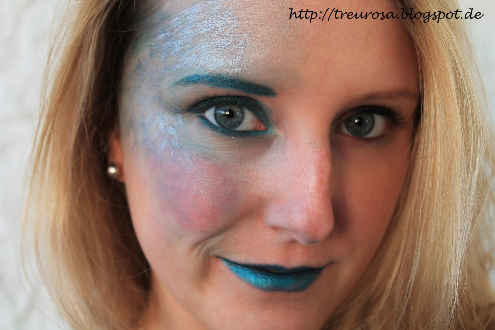 Treurosa blogfasching makeup meerjungfrau - Elegantes make up anleitung ...