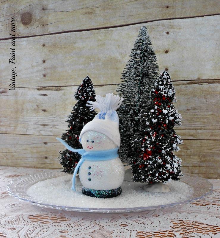A Dose Of DIY - Wooden Snowman