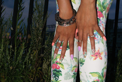 stiletto nails, nail art, nails,