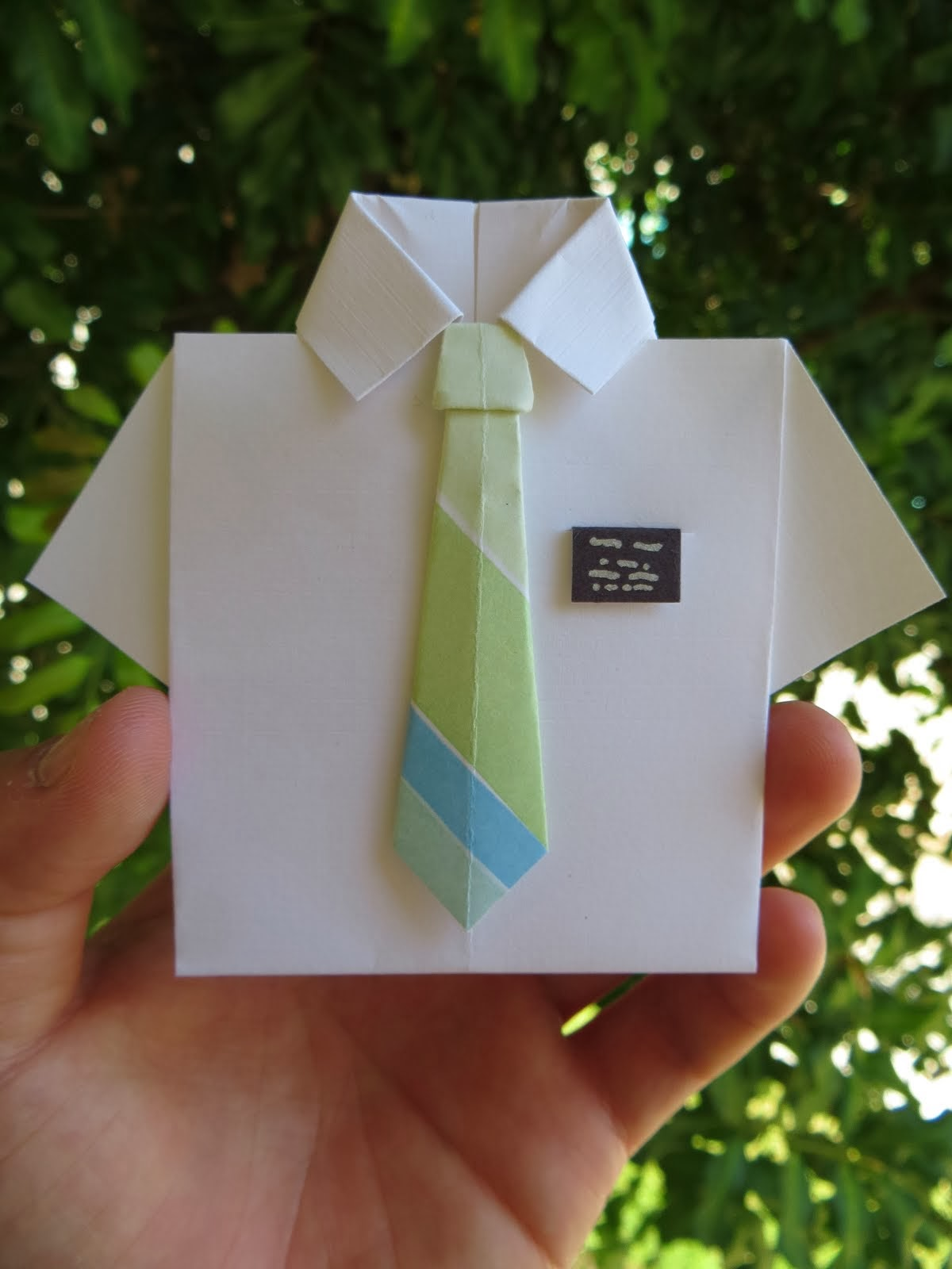 Origami Thank You Notes