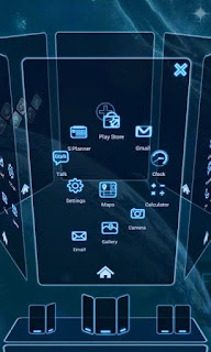 Screenshots of the  for Android mobile, tablet, and Smartphone.
