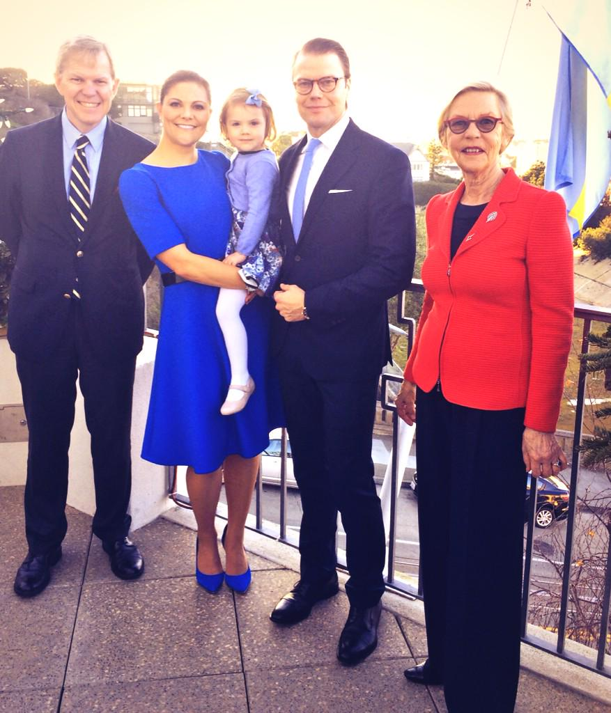 Swedish Royal visit to Silicon Valley