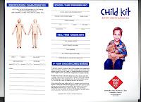 Free Printable Child ID Kit