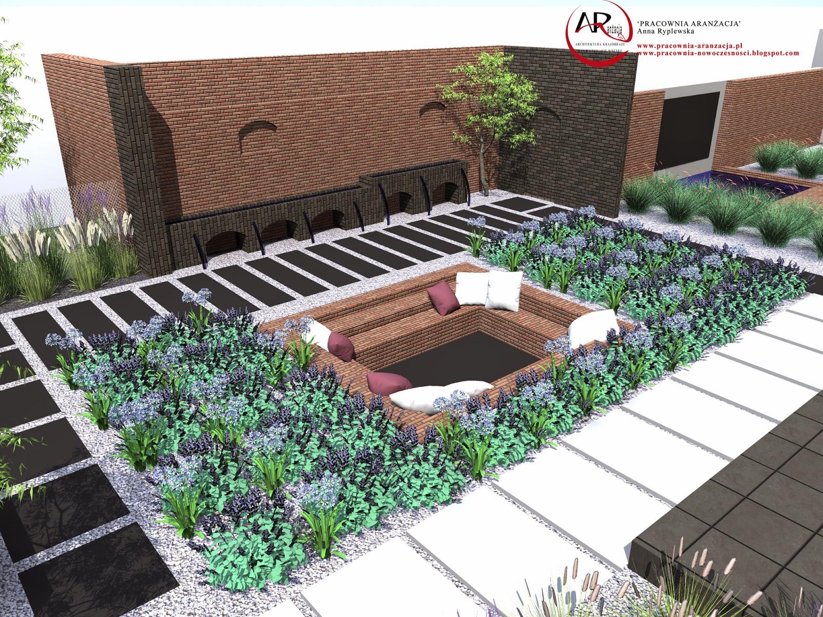 projektowanie ogrodów nowoczesnych