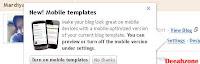 mencoba blogger mobile template