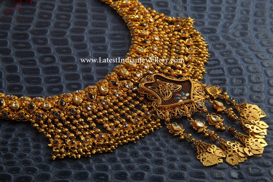 Funky Designer Gold necklace