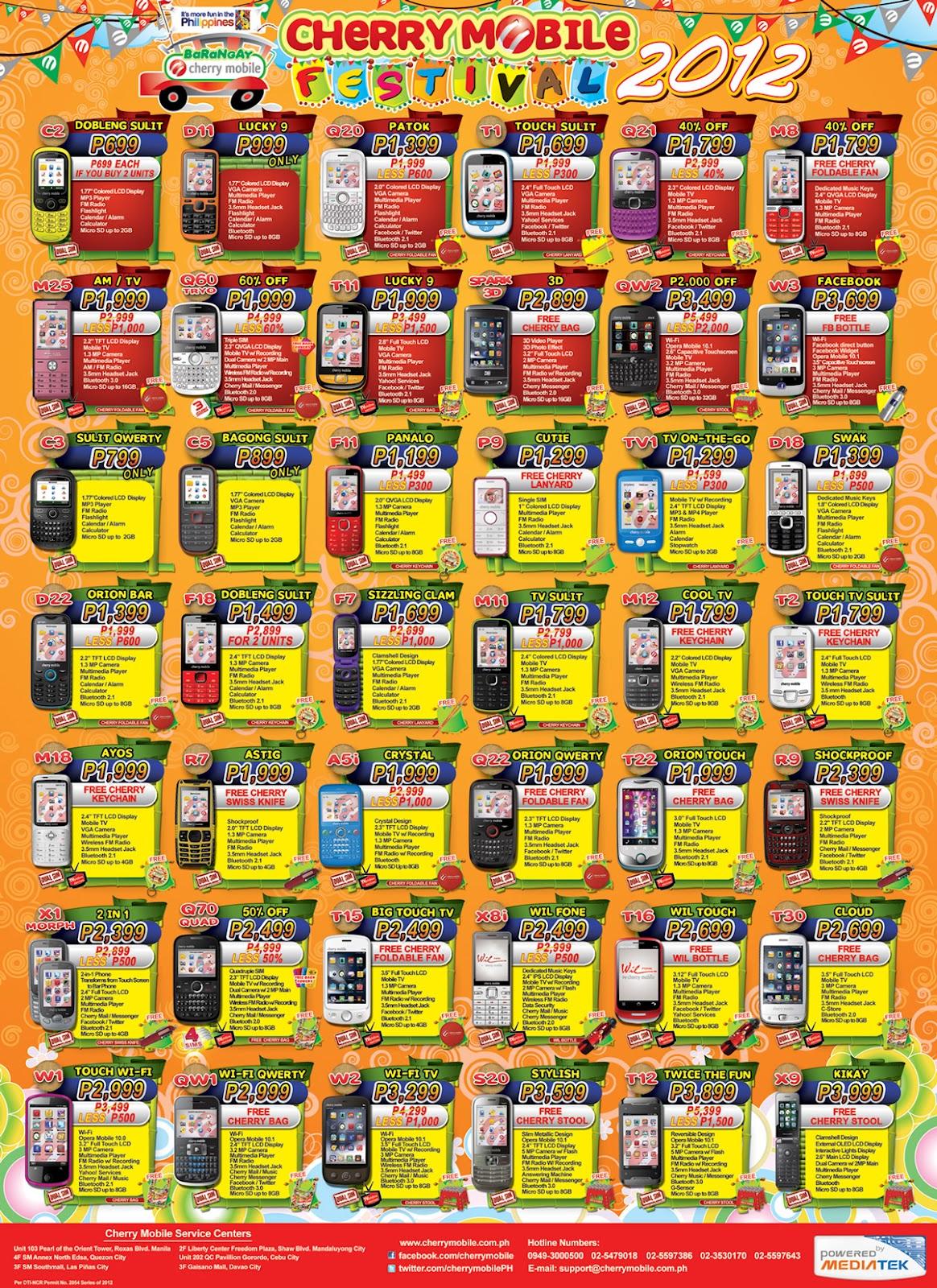 Cherry Mobile Phones Philippines Price