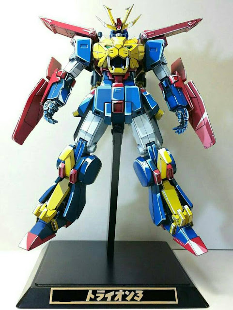 HG Build Fighters Gundam Tryon 3 Anime Colors