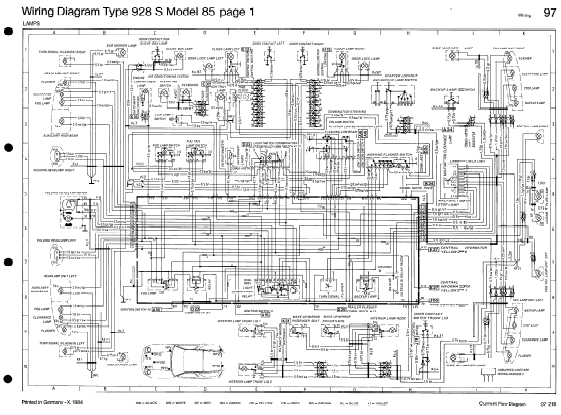Porsche Wiring Diagram Simplified on