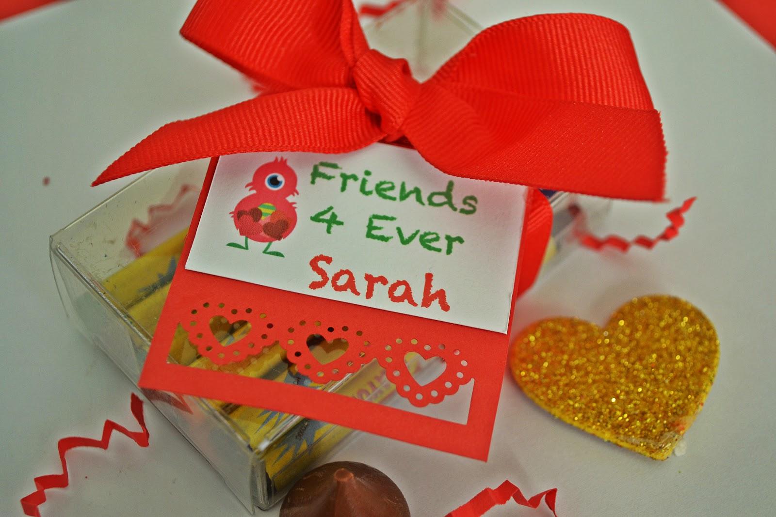 Eventos Tips: San Valentín de Colores: Regalitos para niños!