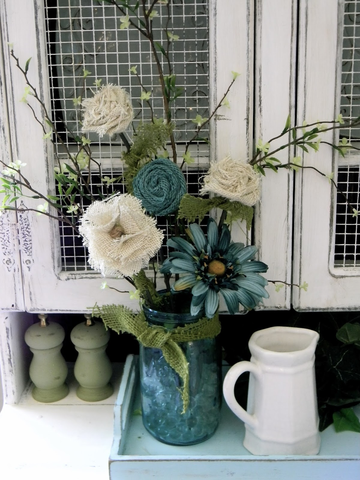 Little bit of paint burlap flower tutorial lately at hobby lobby ive been seeing some adorable burlap flowers i really like the look of them but i am too cheap even on sale the price makes me izmirmasajfo