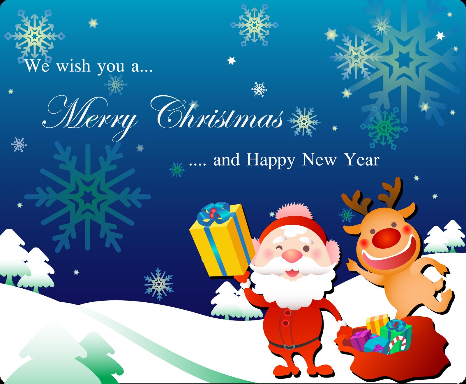 Free Love Quotes: Santa Claus Christmas Card Printable