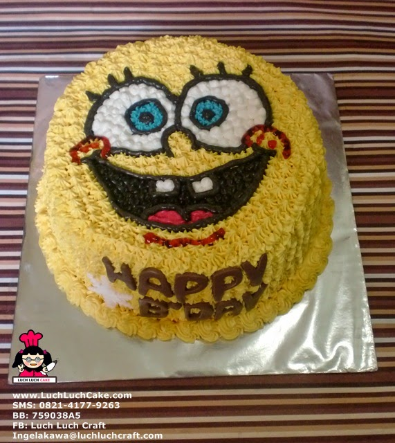 Kue Tart Mini Spongebob
