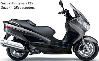 2012 Suzuki Burgman 125