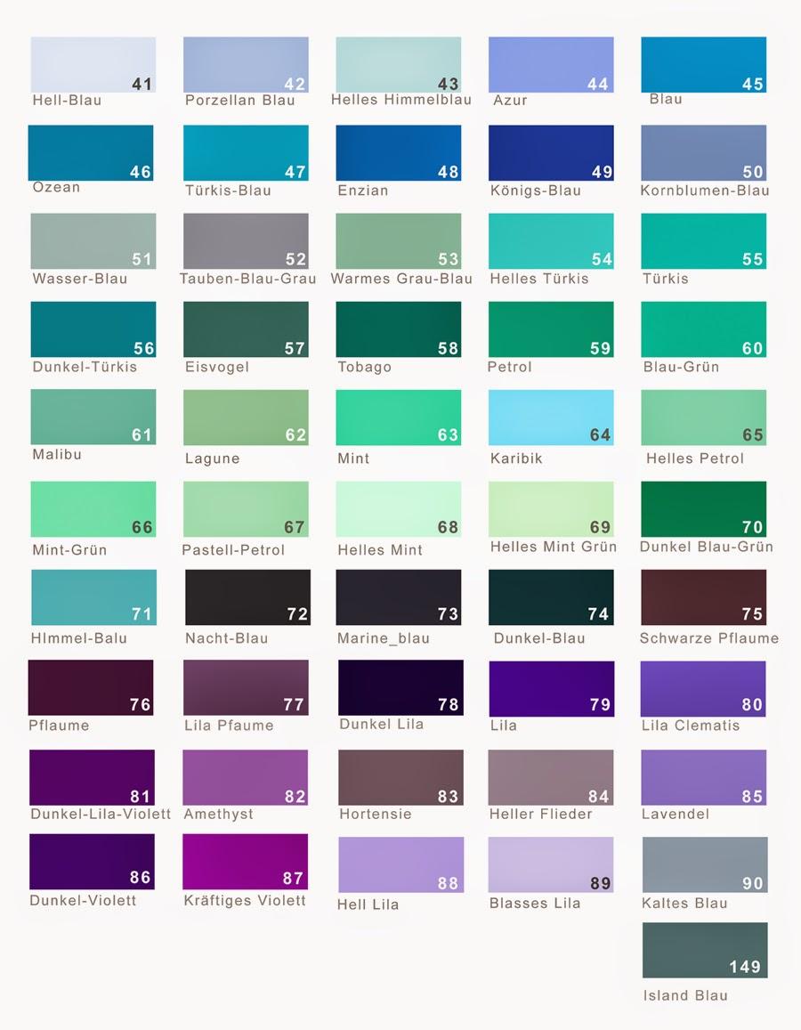 http://4.bp.blogspot.com/-iucsxPAu8ks/U19czfV2fCI/AAAAAAAAEFA/j0q33KHFapk/s1600/Seidenb%C3%A4nder+Farben+T%C3%BCrkis-Blau-Lila+Kopie+900.jpg - Farbpalette Blau