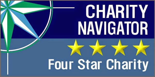Header for Charity Navigator Four Star Charity
