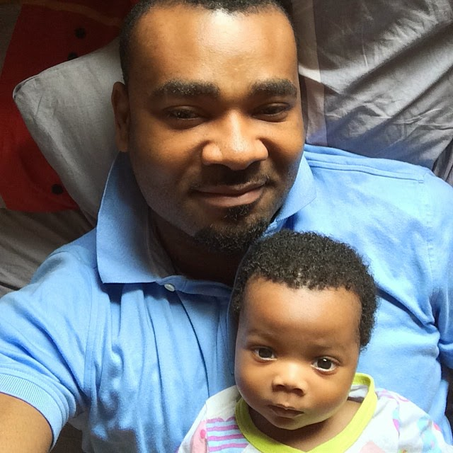 Muma Gee's Hubby, Prince Eke Shares Photos of Their Son