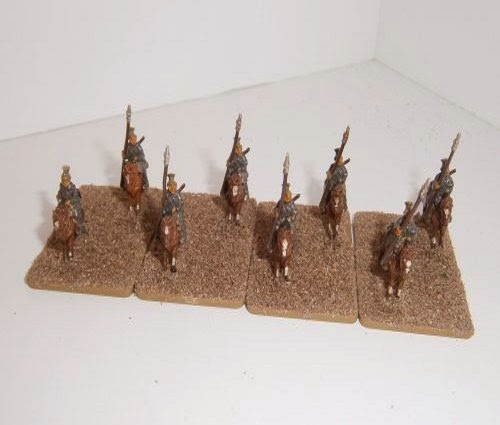 Painting German Cavalry