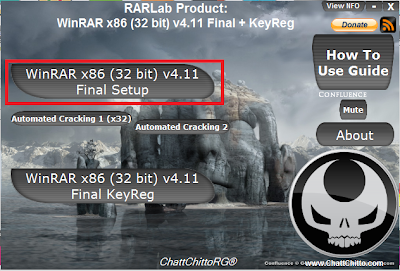Setup WinRAR x86 (32 bit) v4.11 Final + KeyReg