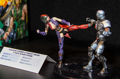 """DC Collectibles Injustice 3.75"""" Harley Quinn & Cyborg 2-Pack"""