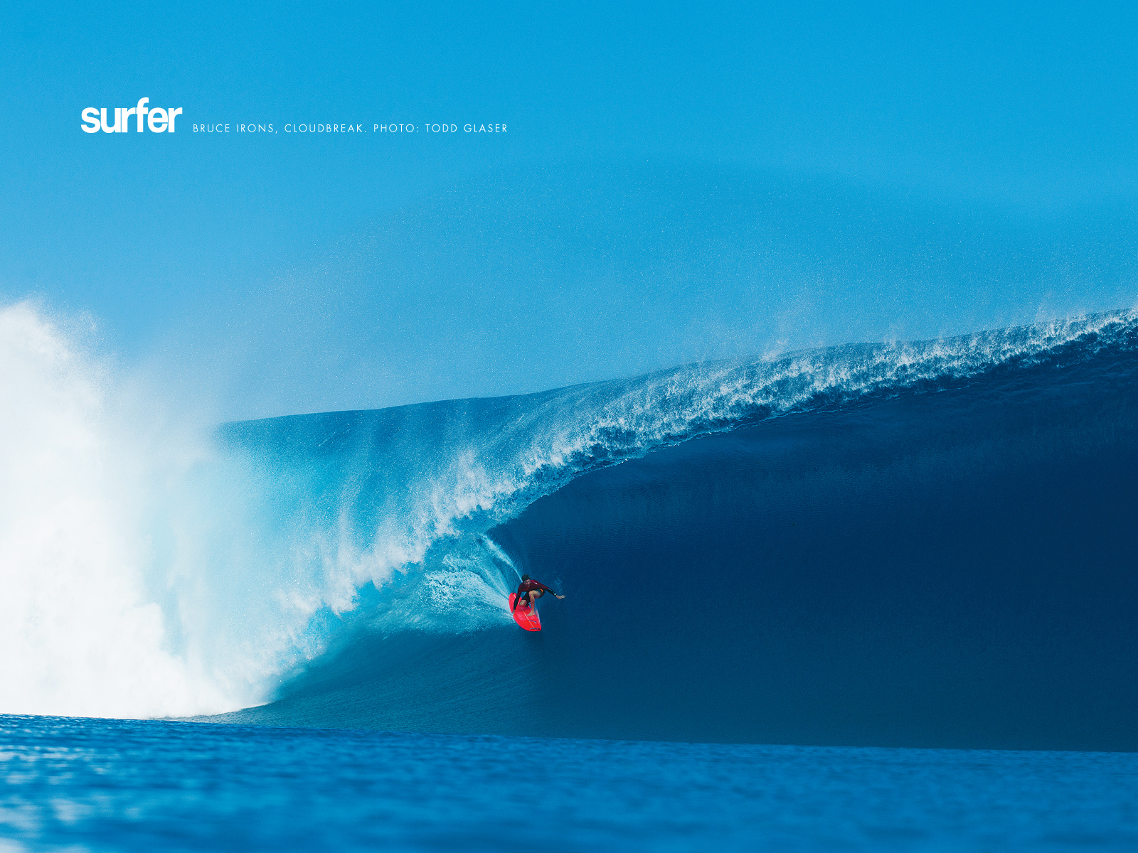 Todd Glaser: Bruce Irons Wallpaper