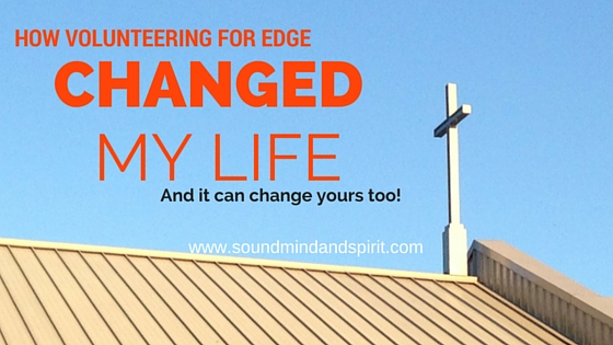 Do you want to volunteer for EDGE? It will change your life!