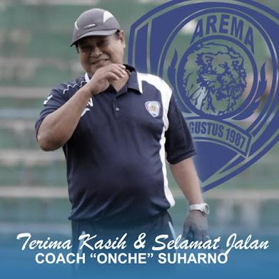 Pelatih Arema Suharno Meninggal Dunia