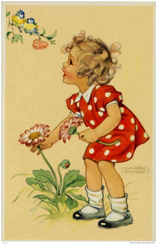 Милые старинные открытки