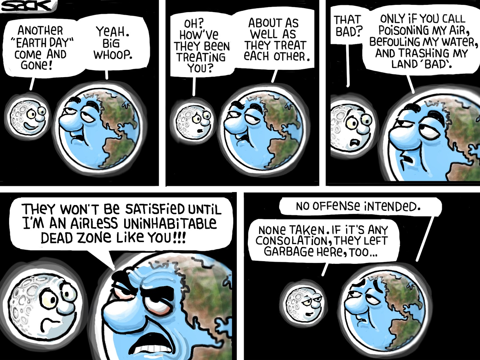 Steve Sack: Earth Day 2014.