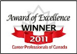 Career Professionals of Canada Award of Excellence Winner 2011