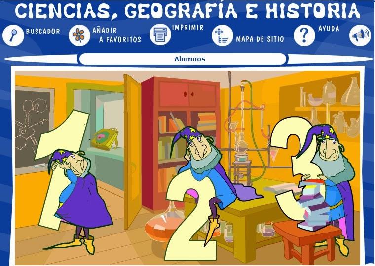 CIENCIAS,GEOGRAFÍA E HISTORIA