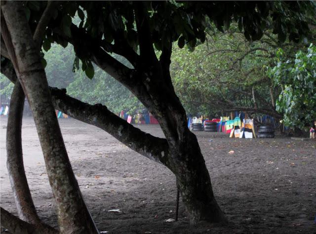 Batu Karas beach